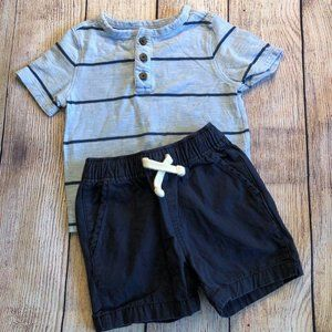 Boys 12-18 months shirt and shorts outfi